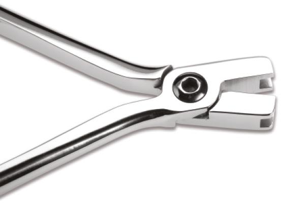 Щипці для надання торку для одного зубу (вузькі, з ключем) ODG-805N