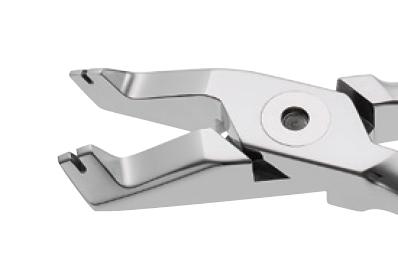 Інструмент Endura Plus щипці обжимні кутові для закріплення силових гачків 204-333