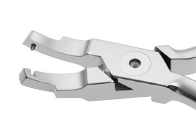 Інструмент Endura Plus щипці Utility кутові для точного формування дуг 204-335