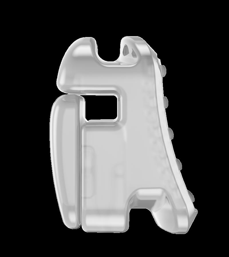 Брекети Carriere SLX 3D бік
