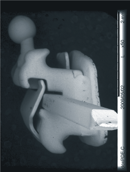 SЕМ-фотографія брекета In-Ovation R